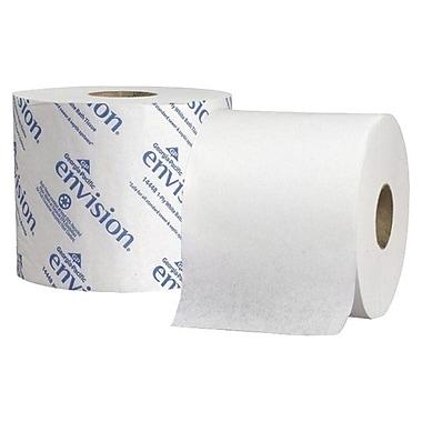 Georgia PacificMD – Papier hygiénique standard haute capacité 2 épaisseurs Envision de 3,95 x 4,05 (po), blanc