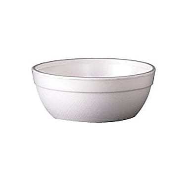 Dixie® Foam Container Bowl, 10 oz., White