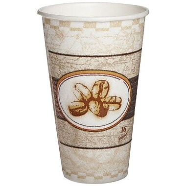 Dixie® PerfecTouch® Insulated Paper Hot Cup, 16 oz.