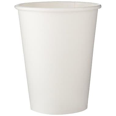 DixieMD – Gobelet pour boisson chaude en papier, 8 oz, blanc