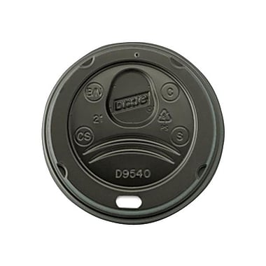Dixie® Plastic Dome Lid For 10 oz. Cups, Black