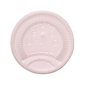 Dixie® Plastic Tear Tab Lid For 6 oz. Cups, Translucent