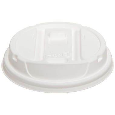 Dixie® Smart Top® Reclosable Cup Lid For 12-16 oz. Cups, White