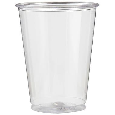 DixieMD – Gobelet en plastique, 7 oz, transparent