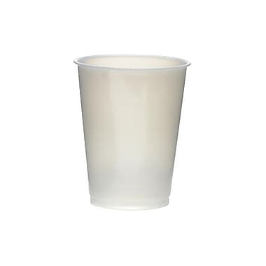 Dixie® Straight Wall Natural Plastic Tufcups, 14 - 16 oz., 1000/Case