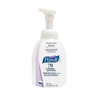GOJO® Purell® Instant Moisturizing Foam Counter Top Bottle Hand Sanitizer, 535 ml