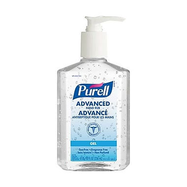 GOJO® Purell® Advanced Hand Sanitizer, 8 oz., 12/Case