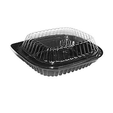 Par-Pak® Small Salad Platter Combo, Black/Clear
