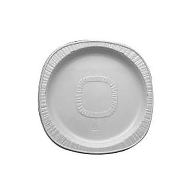 Polar Plastique – Assiettes en polystyrène thermoformé POLARONDE, 9 po, blanc