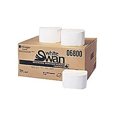 White Swan® Meal Mates® 1-Ply Dispenser Napkins, 6000/Case