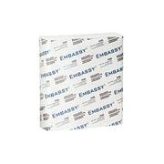 EmbassyMD – Essuie-mains Premium à plis multiples 1 épaisseur, 9 x 9,5 po, blanc, paq./12