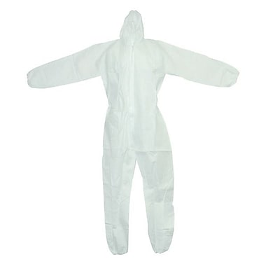 Ronco White Polypropylene Coverall, 3XL