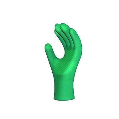 Ronco Nitrile Powder-Free Examination Gloves, Green, Medium