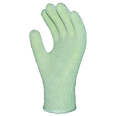 Ronco Poly/Cotton String Knit Gloves, Natural, Knitwrist