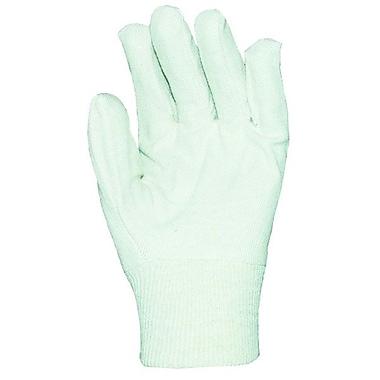 Ronco 6 oz. Cotton Canvas Knitwrist Gloves, White, Mens
