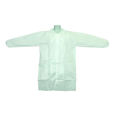 Ronco Polypropylene Labcoat, Medium