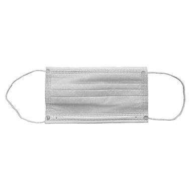 Ronco – Masque de procédure plissé en polypropylène non tissé, blanc, bte/1000