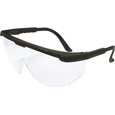 Ronco Nova Adjustable Frame Safety Glass, Black, 10/Pack (323101)