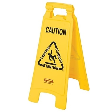 Rubbermaid® Lightweight Floor Caution Sign