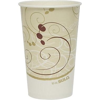 SoloMD SymphonyMC – Gobelet à boisson froide en papier, 16 à 18 oz.