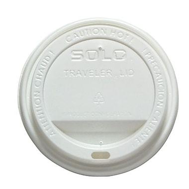 SoloMD – Couvercle en dôme en polystyrène pour boisson chaude TravellerMD, blanc