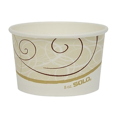Solo® Symphony™ Single Poly Paper Food Container