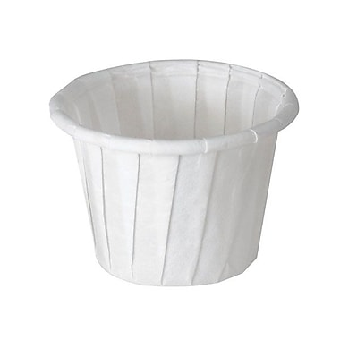 Solo® Treated Paper Souffle Portion Cup, 0.75 oz., White