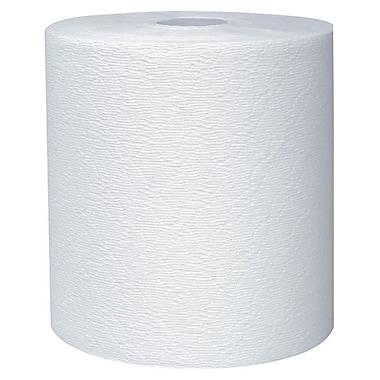 KleenexMD – Essuie-tout robustes en rouleau, diamètre de 7,9 po, blanc