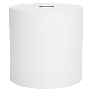 ScottMD – Essuie-tout robustes haute capacité en rouleau, 8 po x 1000 pi, blanc, 6/boîte