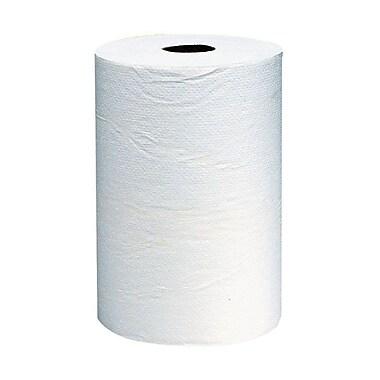 ScottMD – Essuie-tout robustes en rouleau, 8 po x 800 pi, blanc