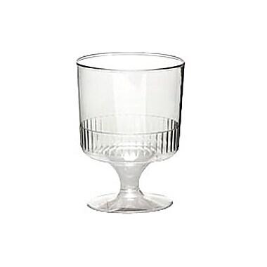 Dixie® 5 oz. One Piece Plastic Wine Glass
