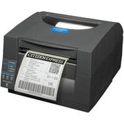 Citizen – Imprimante d'étiquettes codes à barres monochromes thermique directe CL-S521, Ethernet, peleuse, 203 ppp, 6 mm/sec