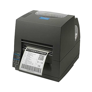 Citizen CL-S521 Direct/Thermal Transfer Barcode Label Printer With Peeler, 203 dpi, 4 ips