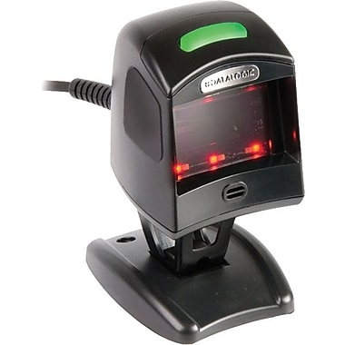Datalogic™ Magellan 1100i USB/Keyboard Wedge 1D Barcode Scanner, 5 mil Omnidirectional, Black
