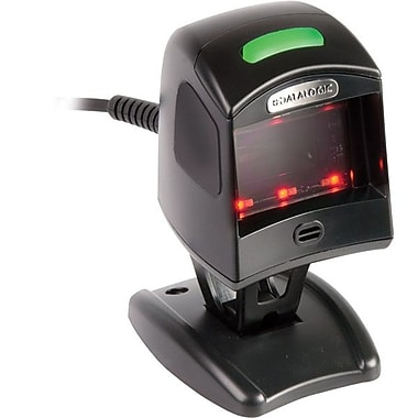 Datalogic™ Magellan 1100i Serial 1D Barcode Scanner with RS-232/WN SNI/2M Cable, 5 mil, Black
