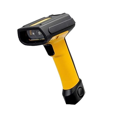Datalogic™ PowerScan PD7130 Keyboard Wedge 1D Barcode Scanner with CAB-437, 3 mil Linear, Yellow/Black