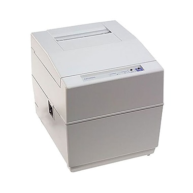Citizen iDP3550F 3.6 lps Serial Interface Impact POS Dot Matrix Printer with Cutter, White