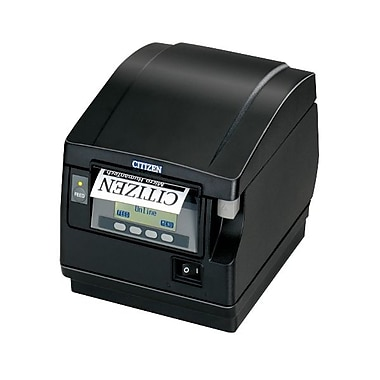 Citizen CT-S851 11.81 in/s Ethernet Front Exit Thermal POS Label Printer, Black