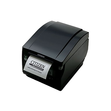 Citizen CT-S851 11.81 in/s Parallel Interface Front Exit Thermal POS Label Printer, Black