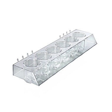 Azar Displays 6-Cup Display Molded Tray (225577)