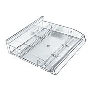 Azar Displays Modular Divider Plastic Bin Tray, 2/Pk