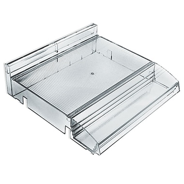 Azar Displays Modular Adjustable Plastic Cosmetic Tray with Tester Tray (225840)