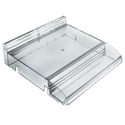 Azar Displays Modular Adjustable Plastic Cosmetic Tray with Tester Tray