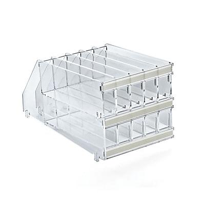 Azar Displays 10-Compartment Acrylic Pencil Tray