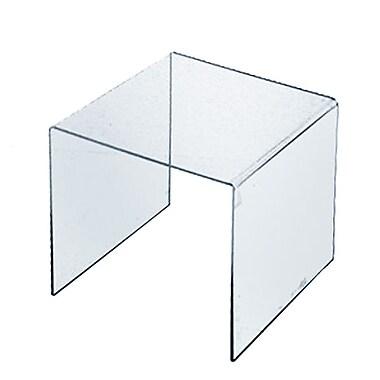 Azar Displays – Présentoir surélevé en acrylique de 11,5 po (515310)