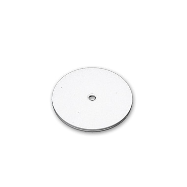 Azar Displays Revolving Display Base, White, 10/Pack (610166-WHT)