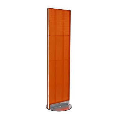 Azar Displays Pegboard Freestanding Floor Display, 16