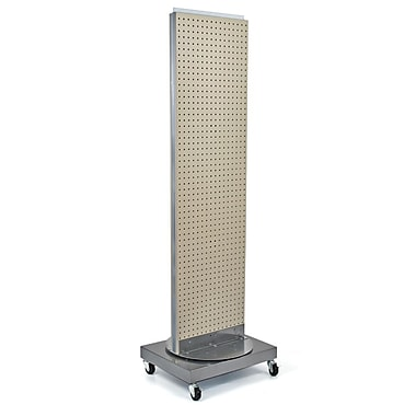 Azar Displays Pegboard Freestanding Floor Stand, 16