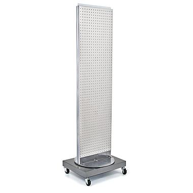 Azar Displays Pegboard Freestanding Floor Stand, 16