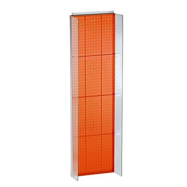 Azar Displays Pegboard Powerwing Display, 60
